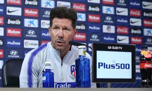 """ATM FLASH   Simeone: """"Nos vamos a enfrentar a uno de los rivales más importantes de LaLiga"""""""