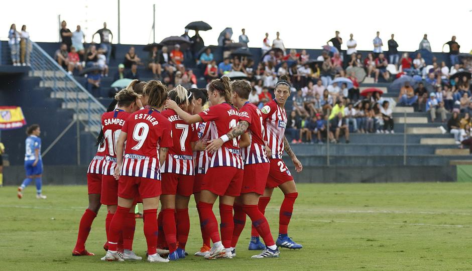 Las mejores jugadas del Málaga 0-4 Atlético de Madrid Femenino
