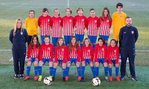 Atlético de Madrid Femenino Alevín B
