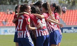 Las mejores jugadas del Atlético de Madrid Femenino 6-0 Logroño