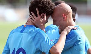 Estreno triunfal del Juvenil A en la Youth League