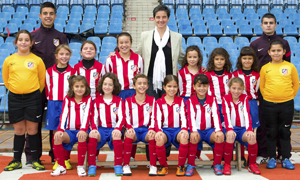 Atlético de Madrid Féminas Benjamín