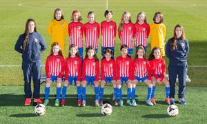 Atlético de Madrid Femenino Benjamín A