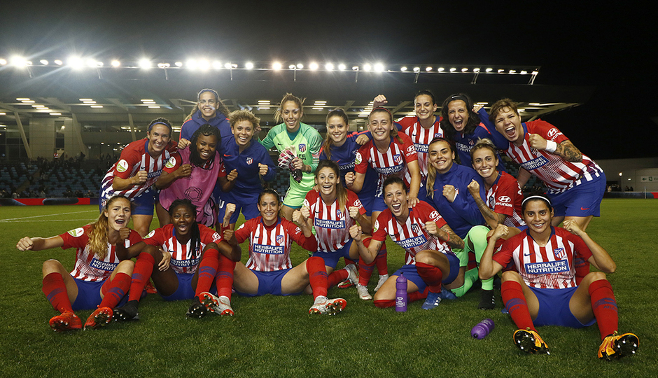 RESUMEN | Las mejores jugadas del Manchester City 0-2 Atlético de Madrid Femenino