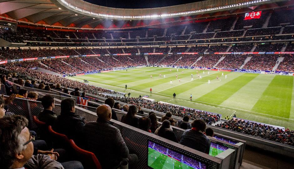 Disfrute de nuestros exclusivos servicios VIP en las zonas Neptuno-Atlético de Madrid Premium
