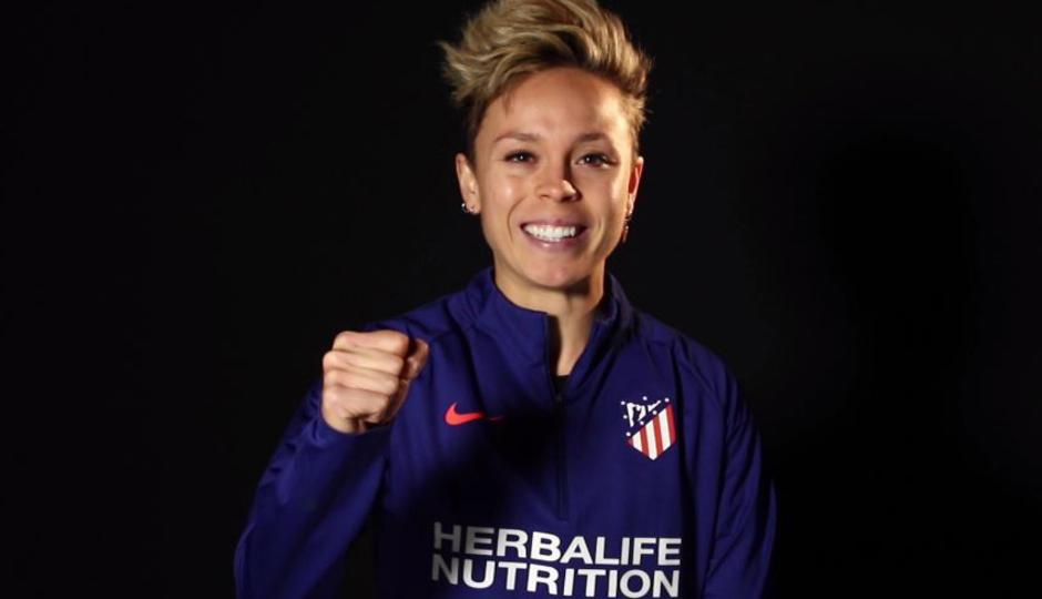¡Aúntante al Clinic de Navidad Amanda Sampedro del Atletico de Madrid!