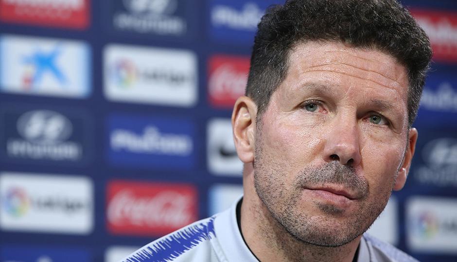 """Simeone: """"El Girona mantiene una misma línea de juego en estos últimos partidos"""""""