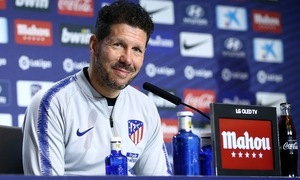 "ATM FLASH | Simeone: ""It's going to be a tough match"""