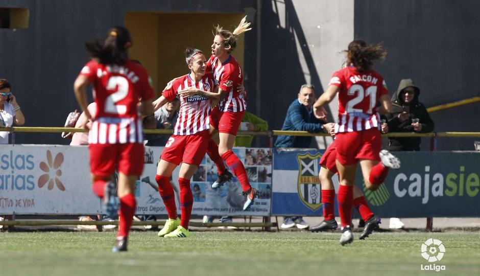 Las mejores jugadas del UDG Tenerife 1-2 Atlético de Madrid Femenino