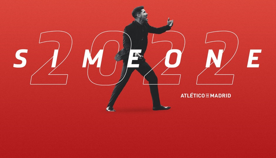 Simeone signs contract extension until 2022