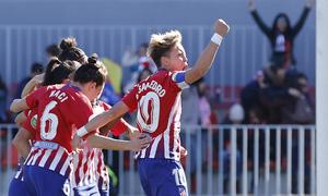 Resumen Atlético de Madrid Femenino - FC Barcelona