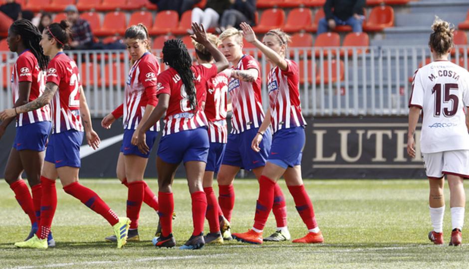 Resumen Atlético de Madrid - Fundación Albacete
