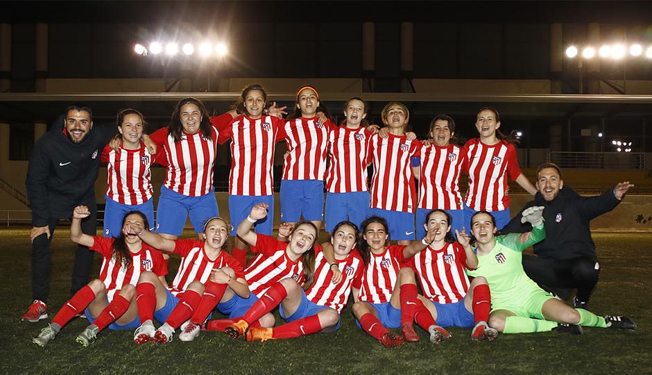 El Femenino Juvenil C se corona campeón liguero