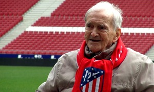 Our legend Miguel González Pérez visits the Wanda Metropolitano