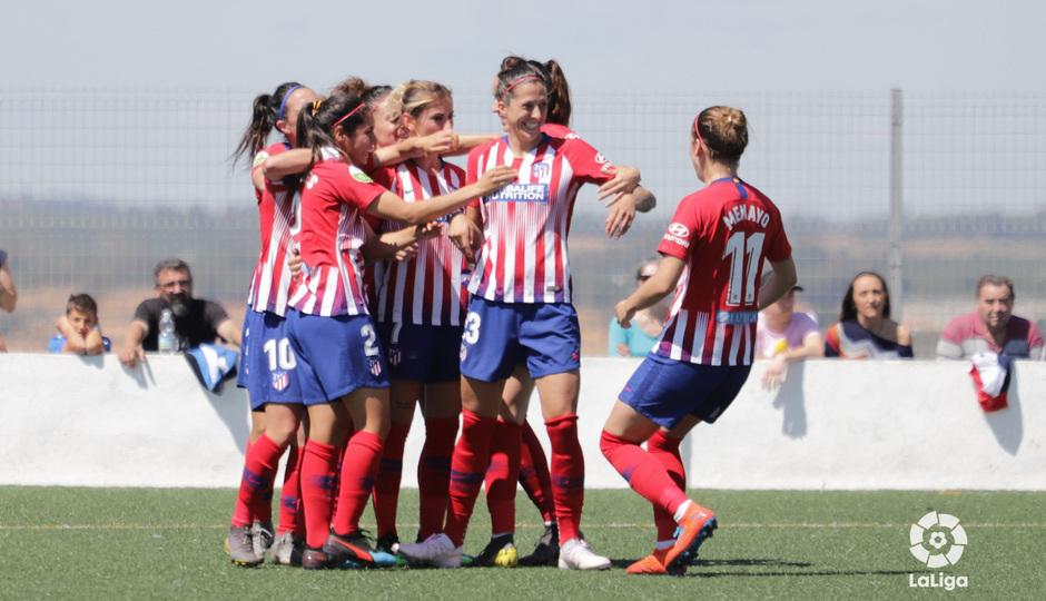Las mejores jugadas del Sporting Huelva 0-3 Atlético de Madrid Femenino