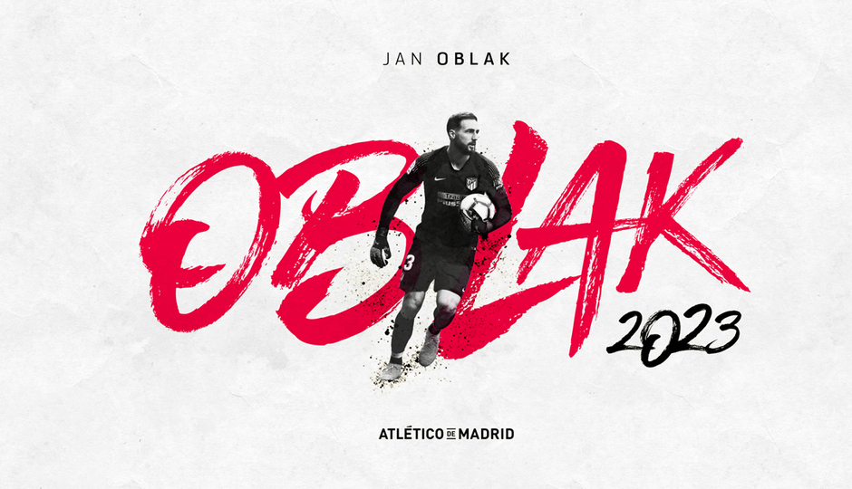 Jan Oblak renueva hasta 2023