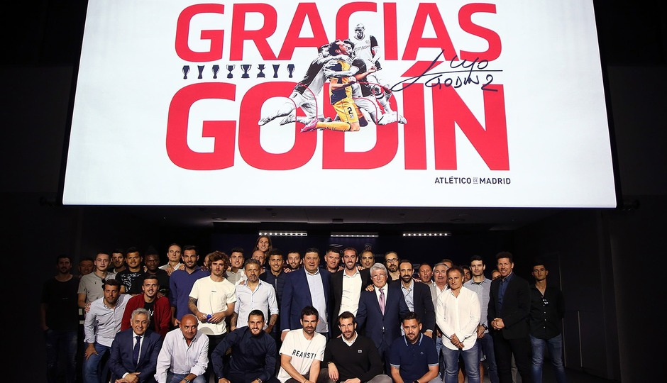 This is how Godín's farewell announcement went