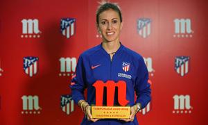"""Ángela Sosa, jugadora Mahou de la segunda vuelta: """"Estoy muy feliz y muy agradecida a la afición"""""""