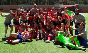 El Femenino B, campeón de la Copa RFFM