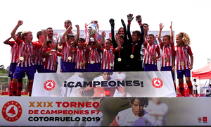 El Prebenjamín A se proclama campeón de Madrid