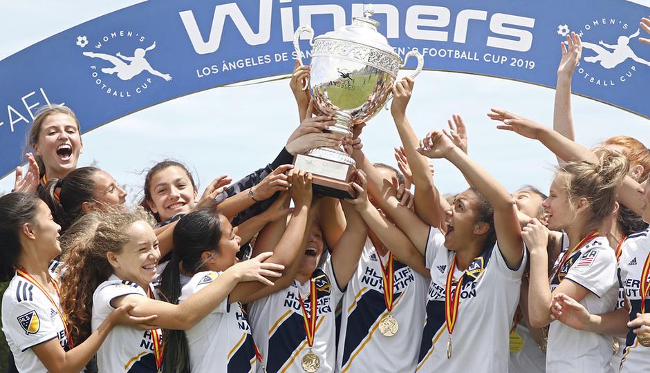 Así fue la Women's Football Cup Ángeles de San Rafael