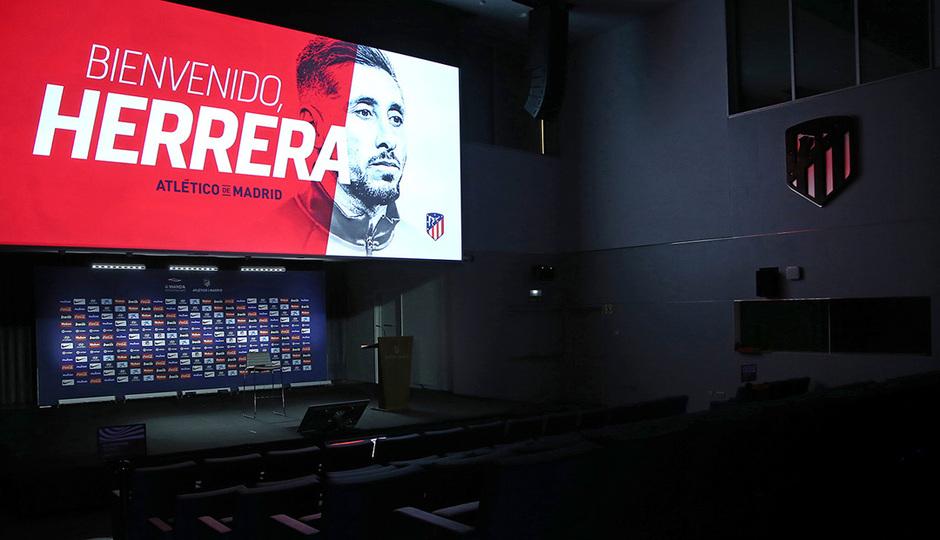 ¡Así fue la presentación de Héctor Herrera!