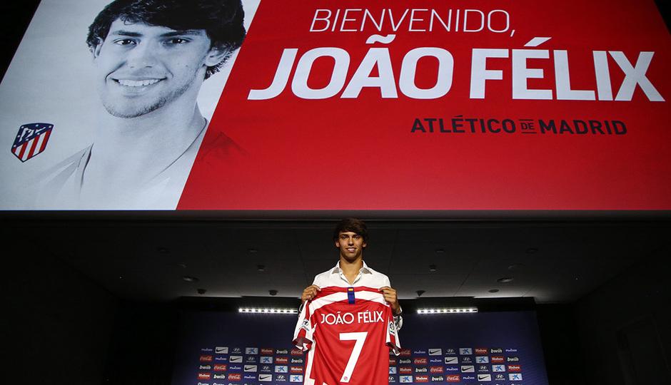 ¡Así fue la presentación de João Félix!