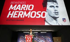 Así fue la presentación de Mario Hermoso