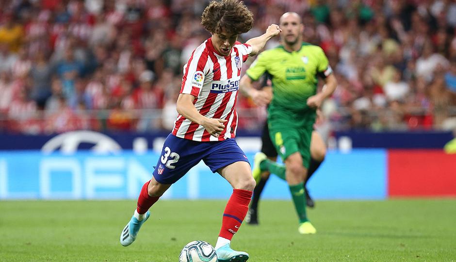 Rodrigo Riquelme debutó con el primer equipo
