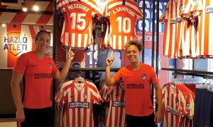 Visitamos la Atlético de Madrid Store del Centro Deportivo Wanda Alcalá de Henares