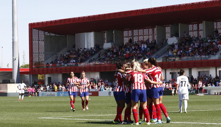 Las mejores jugadas del Atleti Femenino 2-0 EDF Logroño