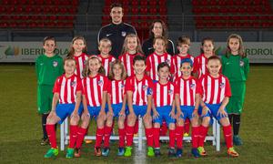 Atlético de Madrid Femenino Benjamín K