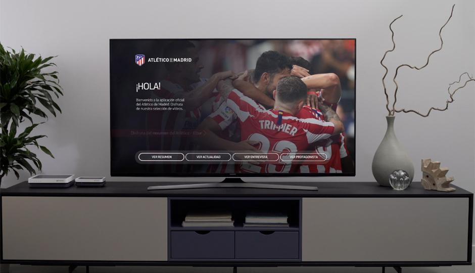 Ya está disponible la Living App del Atlético de Madrid en Movistar