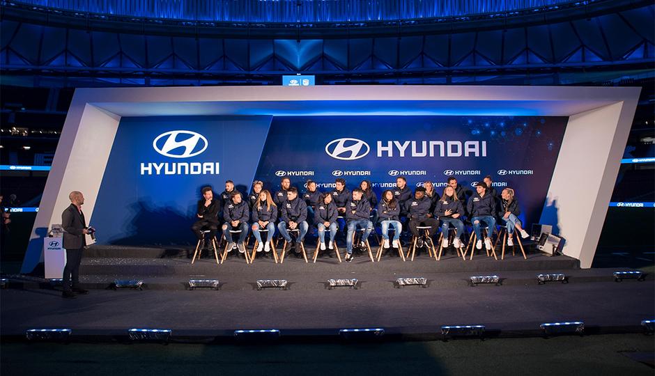 Así fue la entrega del nuevo Tucson Híbrido de Hyundai a nuestros futbolistas