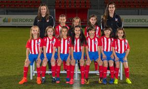 Atlético de Madrid Femenino Benjamín L