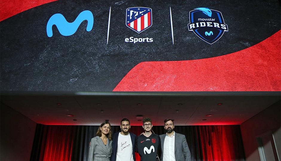Presentamos el Atlético de Madrid eSports