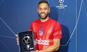 Renan Lodi, nombrado jugador del partido ante el Liverpool
