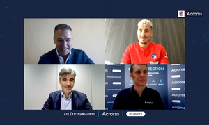 Atlético de Madrid signs partnership with Acronis
