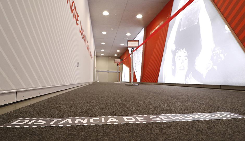 ¡Recorre el Tour Wanda Metropolitano!