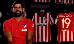 """Diego Costa: """"Tenemos la mejor afición del mundo. Vamos a darlo todo por ellos"""""""