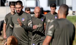 "Carrasco: ""I'm very happy to continue my adventure with Atlético de Madrid"""