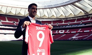 The recap of Luis Suárez's first day as an Atleti player
