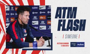 """Simeone: """"El Betis es un equipo peligroso porque tiene un juego asociativo y ofensivo muy bueno"""""""