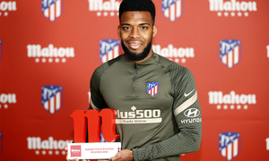 """Lemar: """"We have to give it our all on the pitch."""""""