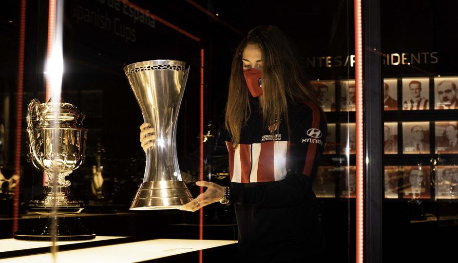 Laia Aleixandri colocó la Supercopa de España en el Territorio Atleti