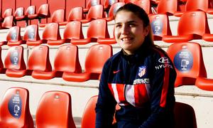 """Claudia Iglesias: """"Debutar con el primer equipo es algo con lo que toda niña sueña"""""""
