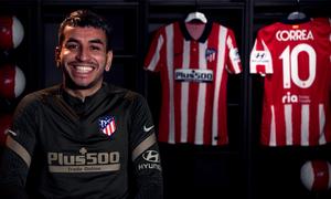 """Ángel Correa: """"Es una semana especial y un partido muy importante"""""""