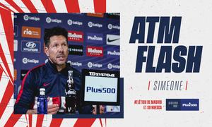 """Simeone: """"El Huesca está compitiendo de una manera brillante"""""""