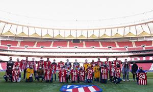 Nuestro equipo de LaLiga Genuine recibió sus equipaciones de la temporada 2020/21