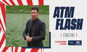 El análisis de Simeone tras la victoria ante Osasuna